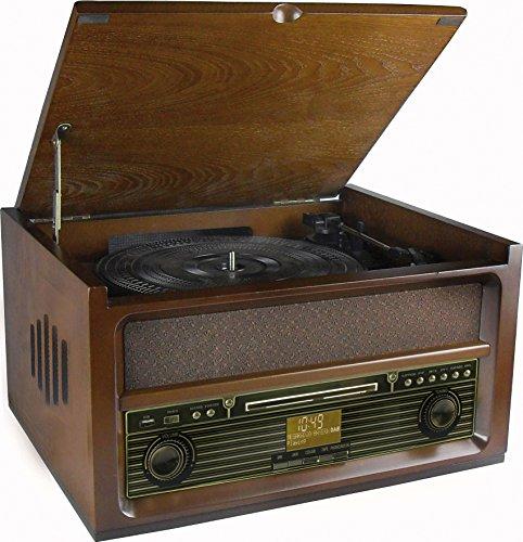 NR515 Nostalgie Musikcenter mit 75 Ohm Anschluss
