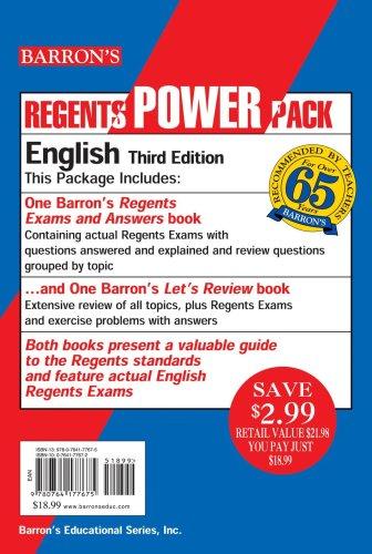 English Regents Power Pack
