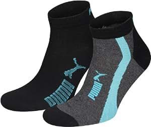 PUMA Socke Quarter Easy Rider 2p,  black, 35/38 ,131001001200035