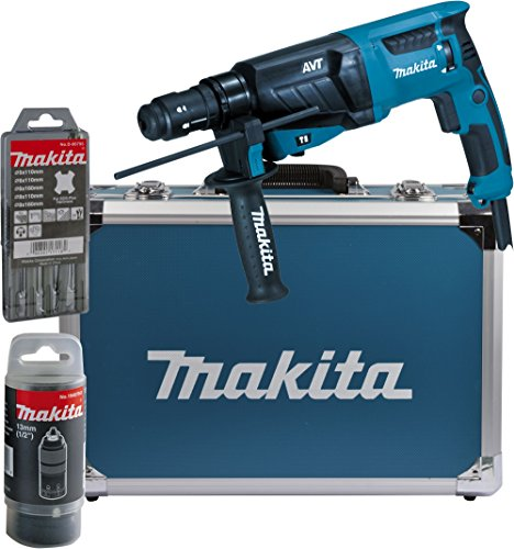 Makita-Kombihammer-fr-SDS-Plus-26-mm-im-Alukoffer-HR2631FT13