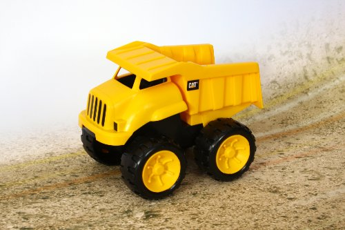 Toystate Caterpillar Construction 8'' Tough Tracks 2-Pack: Dump Truck And Excavator