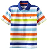 Kitestrings Boys 8-20 Yarn Dye Jersey Stripe Polo