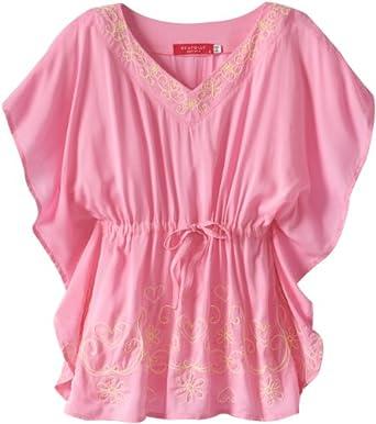 Amazon.com: Seafolly Big Girls' Party Kaftan Swimsuit