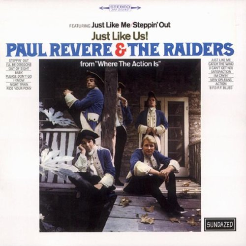 Paul Revere and The Raiders - Just Like Us (plus bonus trax) - Zortam Music