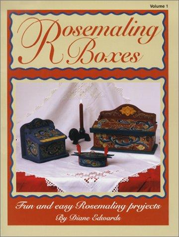Rosemaling Boxes