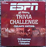 ESPN All Sports Trivia Challenge Game ~Tailgate Edition