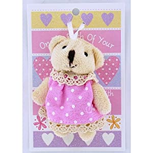 Cuddles Bear 'On the Birth Of Your Daughter' Gift card & Toy en BebeHogar.com