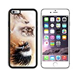 MSD Premium Apple iPhone 6 Plus iPhone 6S Plus Aluminum Backplate Bumper Snap Case young indian woman wearing a gorgeous feather headdress with wolves IMAGE 36963542 by MSD Customized Premium