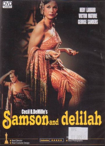 Cecil B. DeMille Wallpapers Samson And Delilah DVD Cecil B Demille BY GOLDEN CLASSIC