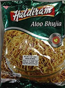 Haldiram Aloo Bhujia (Spicy Potato Noodles) 200 Gram