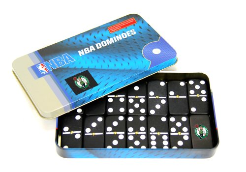 NBA Boston Celtics Domino Set in Metal Gift Tin - 1