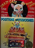 Positions with Book (Crazy Cats) (Spanish Edition)