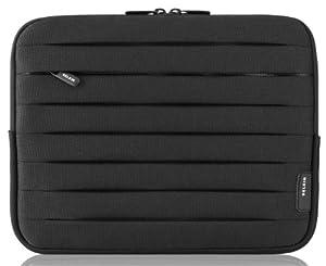 Belkin Plissee-Schutzhülle (dehnbares Staufach) 24,6 cm (9,7 Zoll) für Galaxy Tabs, iPad 2nd, 3rd 4rd,  iPad Air, iPad Air 2  Schwarz