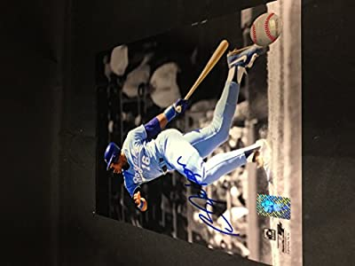 Bo Jackson Signed Autographed Kansas City Royals Raiders 8x10 Photograph GTSM COA & Player Hologram