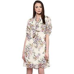 RARE Women's A-line Floral Dress
