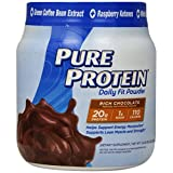 Pure Protein Daily Fit Powder, Rich Chocolate, 1.2 Pound
