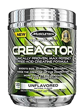 Creactor MuscleTech Muskelaufbau, Kraft und Regeneration ohne ein Aufblähen einen Schub zu geben! 204g