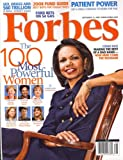 Forbes, September 15, 2008 Issue
