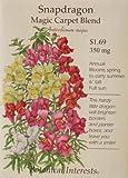 Magic Carpet Blend Snapdragon Seeds - 350 mg - Annual