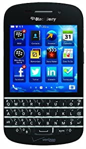 BlackBerry Q10, Black (Verizon Wireless)