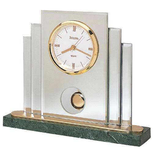 Bulova Tempest I Tabletop Collection Clock B7877