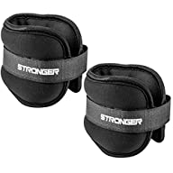 Premium Ankle Weights By Stronger (2 X 2 Pounds) ✦ Durable Ankle Weights for Ab, Leg & Glute…