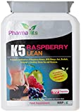 Pharmavits Raspberry K5 Lean Weight Loss Dieting Pills - Pack of 60 Capsules