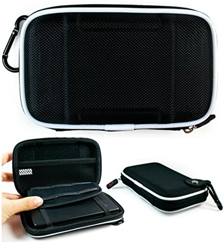 Black EVA On-The-Go Storage Case for Fitness Tracker Wristband Like Fitbit Flex, Charge, Charge HR, Blaze, Surge
