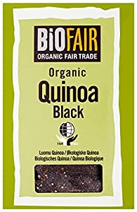 BiOFAIR Black Quinoa Grain Organic Fair Trade 400 g