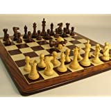 Rosewood Stallion Knight Double Queen Rosewood Chess Board