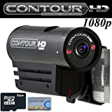 VholdR ContourHD 1080p HD Helmet Wearable Camcorder + Micro SD 8GB Memory Card Kit gadgets