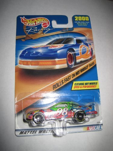 2000 Hot wheels Racing woody #98 Rolls fast on hot wheels tracks