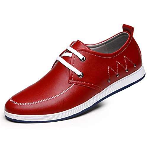 Scarpe da uomo/scarpe casual da uomo/Inghilterra scarpe pizzo traspirante/scarpe basse/scarpe/scarpe-D Lunghezza piede=26.8CM(10.6Inch)