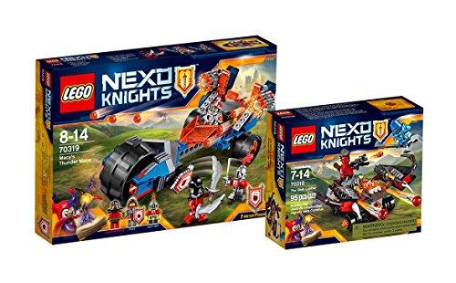 lego-nexo-knights-set-70318-globlin-armbrust-70319-macys-donnerbike