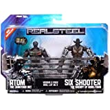Real Steel Movie BASIC Action Figure 2Pack Atom Vs. Six Shooter