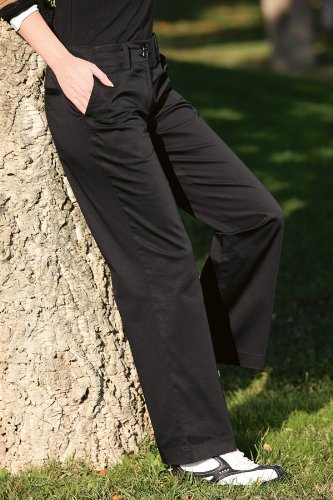 Glenmuir Ladies Stella Stretch Cotton Golf Trousers In 5 Colours - UK 14 Long [31