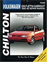 Volkswagen Golf, Jetta, and Cabriolet, 1990-98 (Chilton's Total Car Care Repair Manuals) from Delmar Cengage Learning