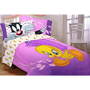 Tweety bedding totally kids totally bedrooms kids bedroom ideas