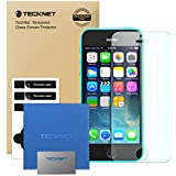iPhone 5C/5S/5 Tempered Glass Screen Protector, TeckNet® [3D Touch Compatible] Tempered Glass Screen Protector For Apple iPhone 5C/5S/5 with 9H Hardness and 96% Transparency