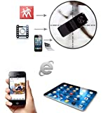 Lentenda Mini Remote SPY Camera for Iphone Android Ipad Pc Mini Wifi Ip Wireless Spy Surveillance Camera Remote Cam