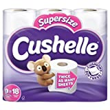 Cushelle Supersize White Rolls Equals 18 Regular Rolls 9 per pack