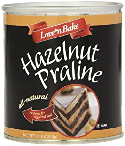 Love 'N Bake Hazelnut Praline, All Natural, 11 Ounce Can