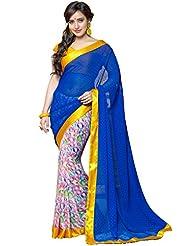 CSE Bazaar Women Indian Saree Beautiful Fancy Ethnic Cultural Party Wear Sari - B00SO6RBJ0