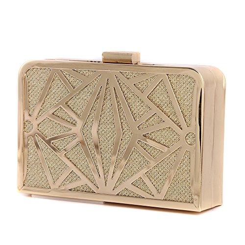 S-Lady-Design-Luxus-glitzer-Damen-Tasche-Clutch-Damentasche-Abendtasche-Party-Hochzeit-Handtasche-Brauttasche-mit-Strass-Satin-gold