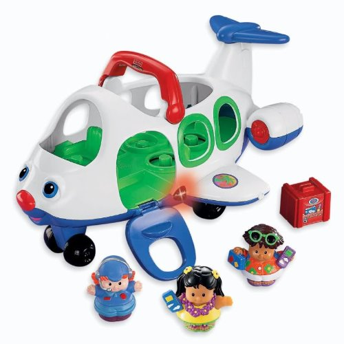 Fisher-Price Little People Lil Movers Airplane - 1