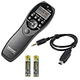 Neewer® LCD Display Shutter Release Wired Timer Remote Control NW-880/DC2 for Nikon D7100 D7000 D5300 D5100 D5000 D3300 D3200 D3100 D610 D600 D90 DF DSLR Cameras
