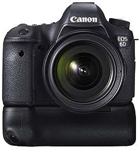 Canon EOS 6D 20.2MP Digital SLR Camera (Black) with 24-70 Lens