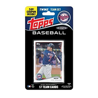 MLB Minnesota Twins 2014 Team Set Trading Card by Topps, Upper deck, Donruss, Fleer, Score, Upperdeck