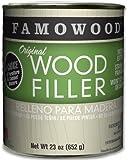 FAMOWOOD Original Wood Filler - Birch - Pint Net Wt 23oz(652g)