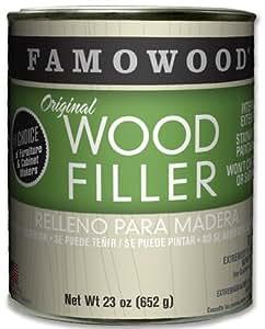 FAMOWOOD Original Wood Filler - Alder - Pint Net Wt 23oz(652g)